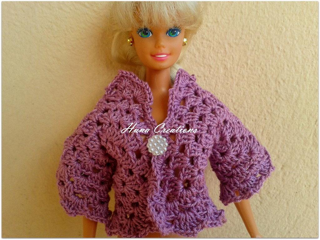 giacca barbie