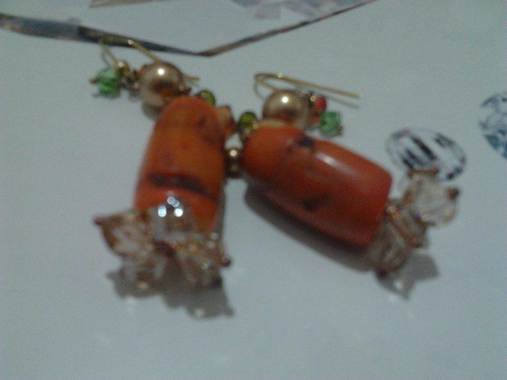 orecchini arg925 e swarovski