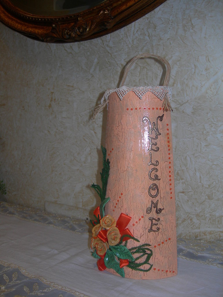 TEGOLA DECOUPAGE WELCOME