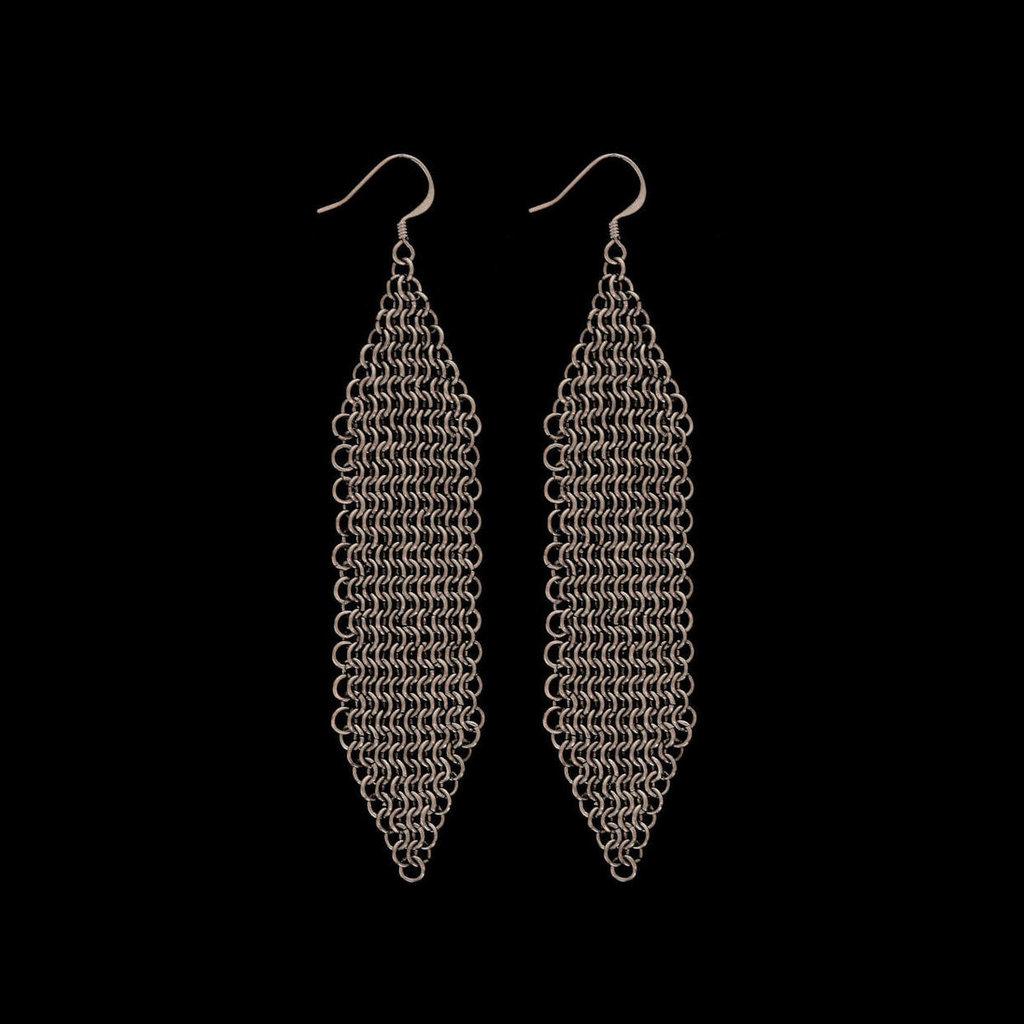 Orecchini - Chain Maille - Maglia europea - Acciaio
