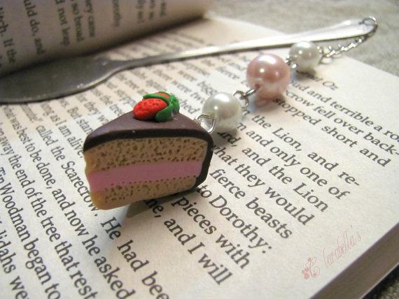 Segnalibro-cucchiaino con dolcetto