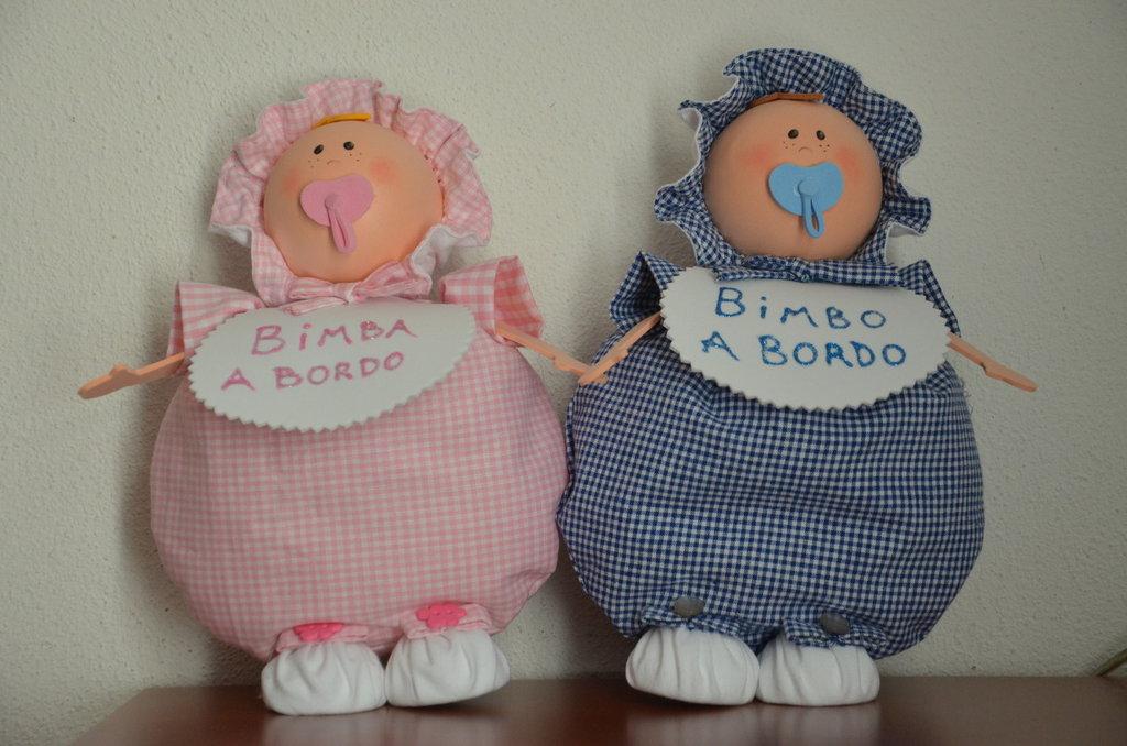 """Bambola """"bebè a bordo"""""""
