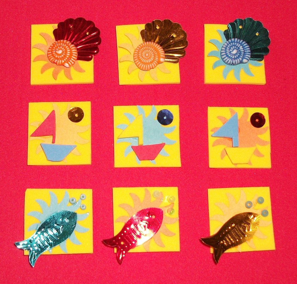 Inchies - *I POLLICINI* handmade! - summer version* - scrapbooking & cardmaking