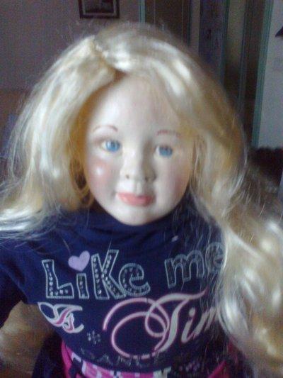 SUSANNA bambola da collezione