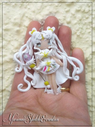 Sailor Cosmos Handmade Fimo Ciondolo
