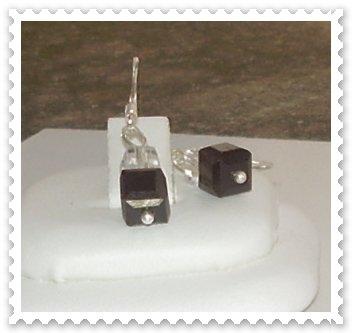 Orecchini argento 925 e cristalli