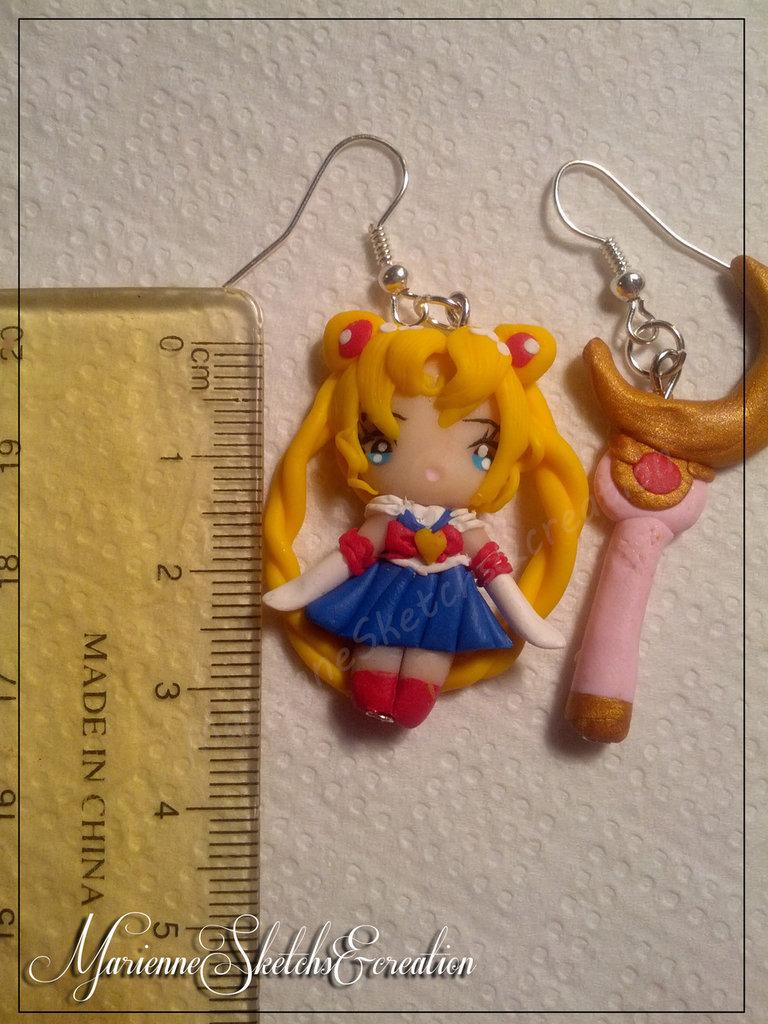 Orecchini Sailor moon