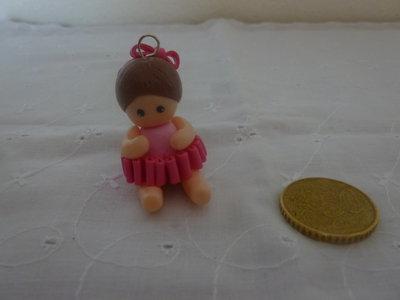 Ciondoli borsetta rosa