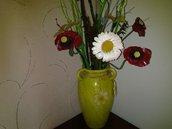 vaso con fiori