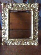 specchiera-cornice stile antico