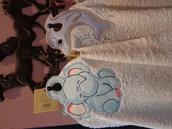 Asciugamani con anello