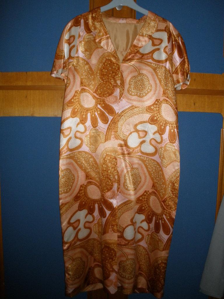 vestito donna vintage 44 confezione sartoriale classico ma allegro