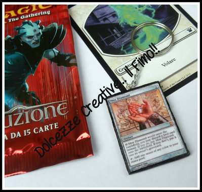 Portachiavi Carte Magic - Mox Diamond