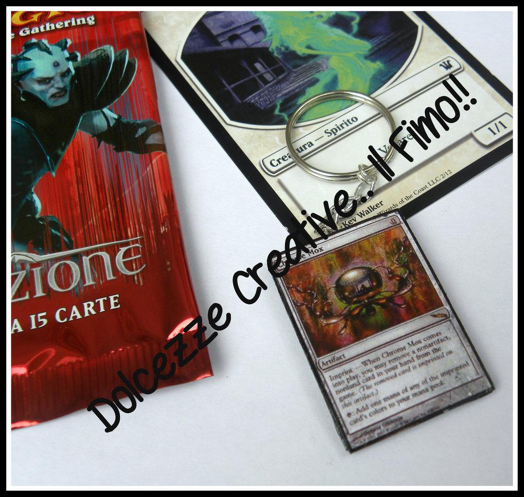 Portachiavi Carte Magic - Chrome Mox