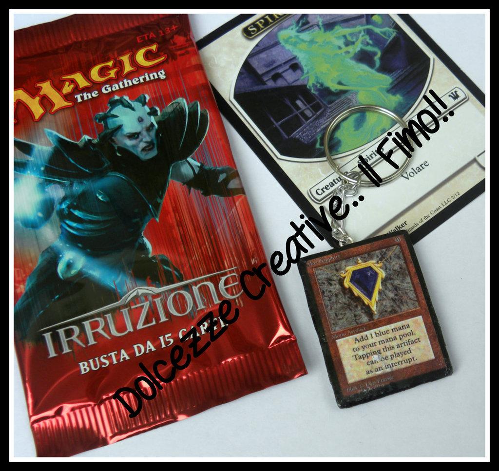 Portachiavi Carte Magic - Mox sapphire