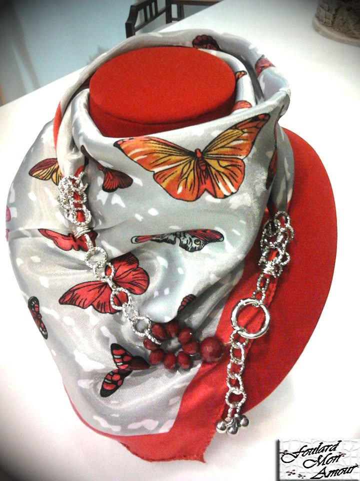 Foulard Gioiello Butterfly