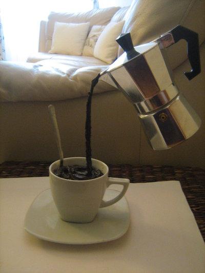 Caffettiera sospesa