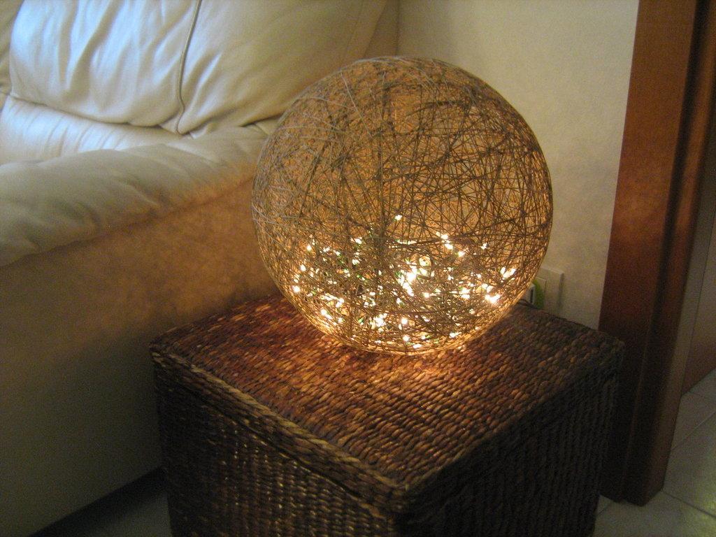 lampada di spago