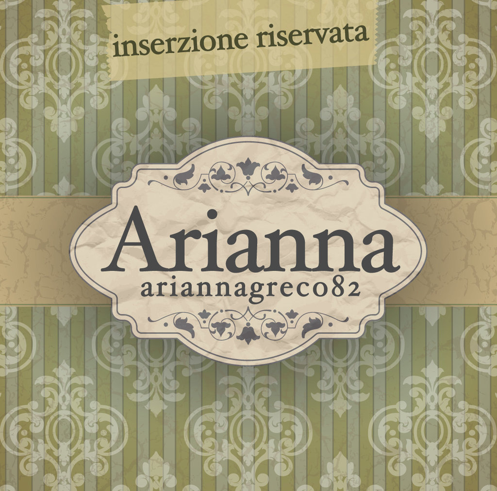 Inserzione riservata per Arianna