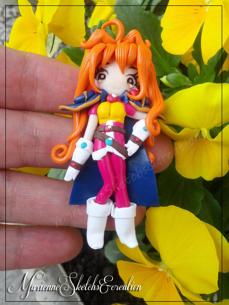 Lina Inverse The slayers handmade fimo ciondolo