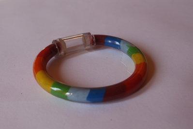 Bracciale arcobaleno