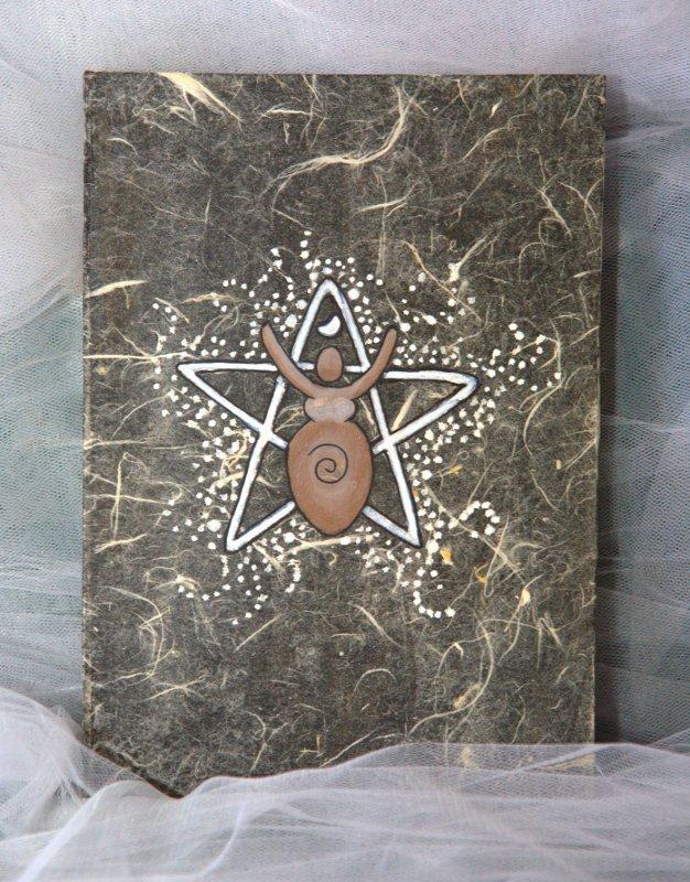 Libro delle Ombre con decorazione Dea Madre - Offerta Speciale!