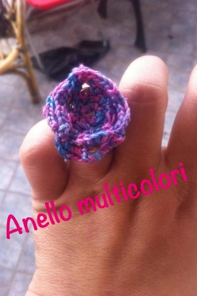 Anello multicolor