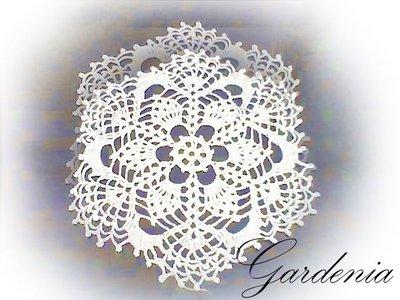 Centrino per Bomboniere - Gardenia