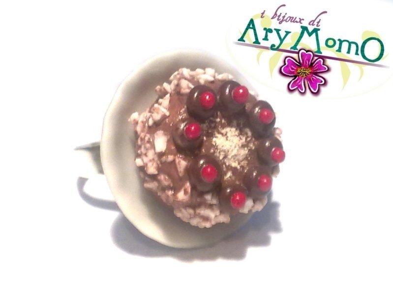 Torta al cioccolato con ciliegine (AN103)