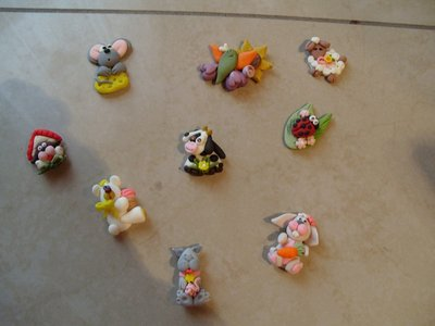 Magneti animali bomboniera