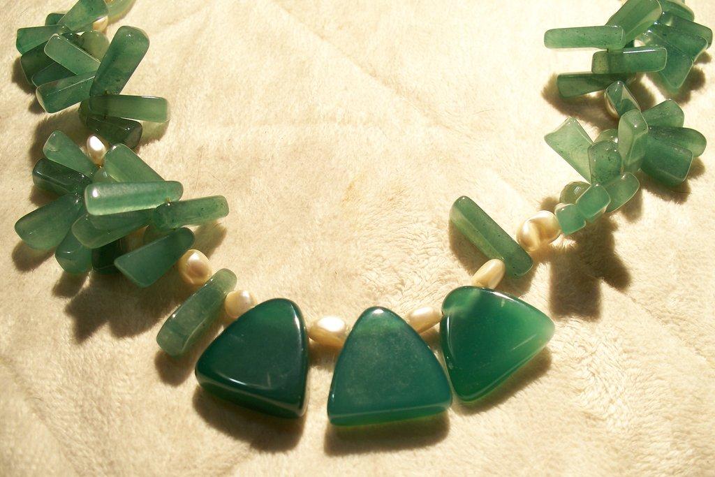 Collana Avventurina verde