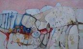 Alba - olio su tavola - 100x60 - anno 2012