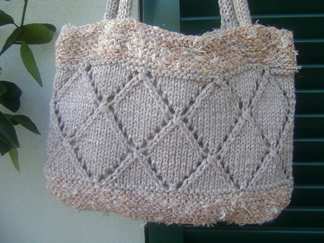 borsa di cotone ai ferri