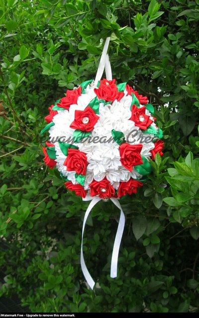 bouquet gioiello modello borsetta