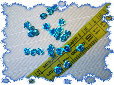 50 ROSELLINE in alluminio
