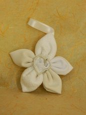 Fiore di stoffa