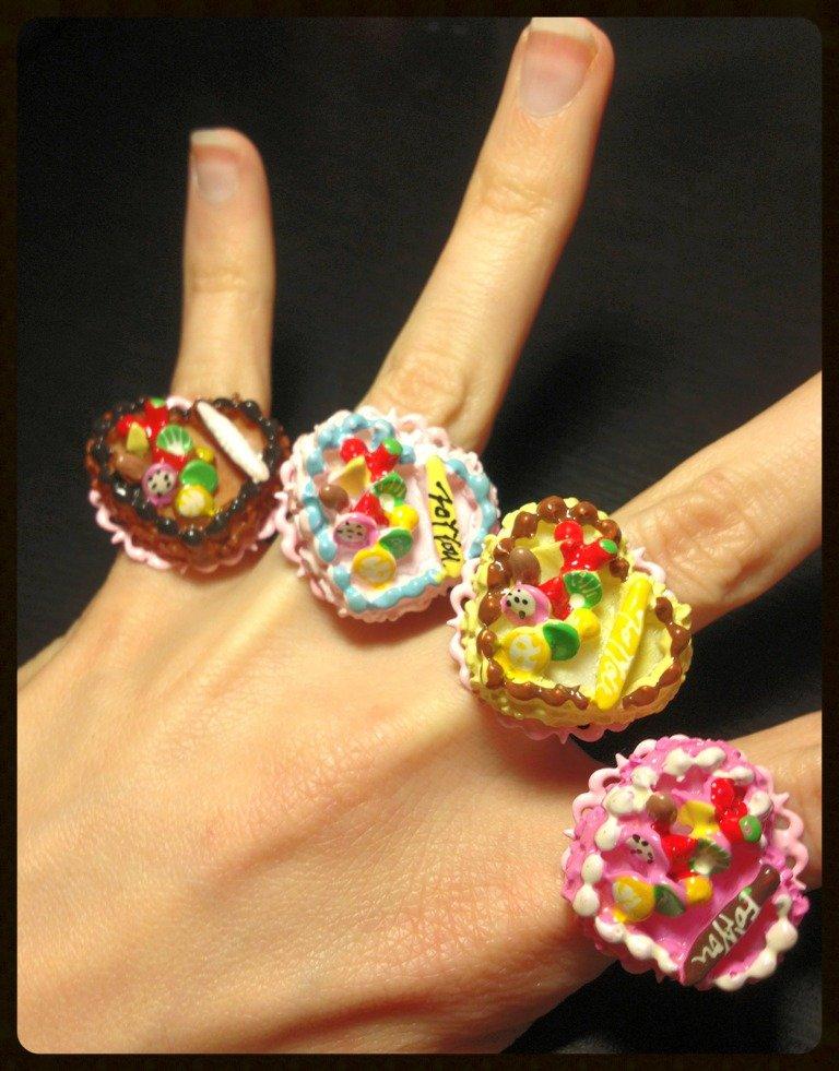 "Anelli Lolita ""Sweet Cakes""!"