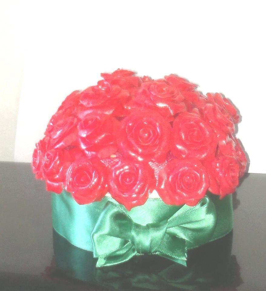 Centrotavola Rose rosse
