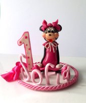 Top Cake Minnie 1° compleanno