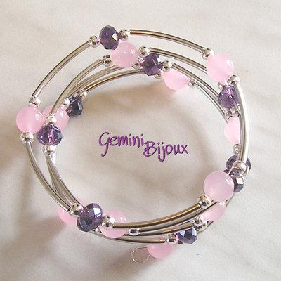 Bracciale Armonico Pink Jade