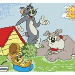 SCHEMA PUNTO CROCE TOM E JERRY