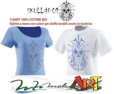 t-shirt SKULL #01#