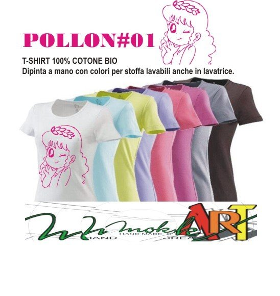 t-shirt POLLON #01#