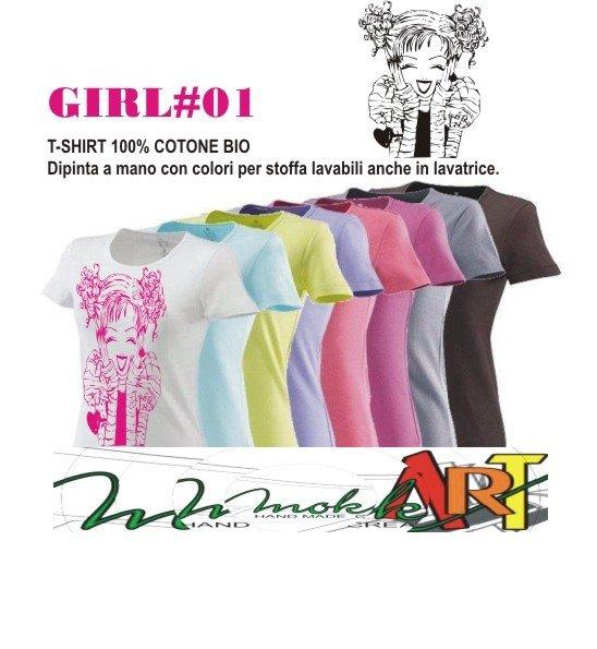 t-shirt GIRL #01#