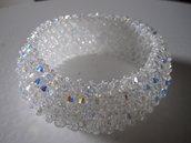 12 Bracciale capricho con originali cristalli swarovski crystal