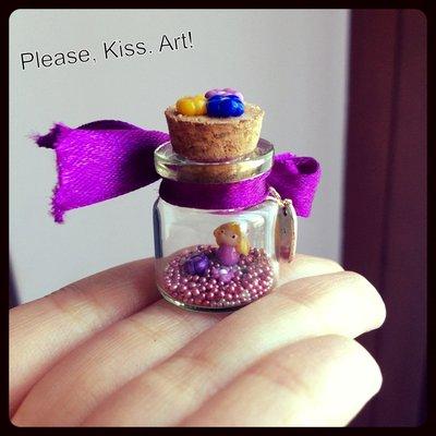 Made with love: Miniatura folletto dei fiori!
