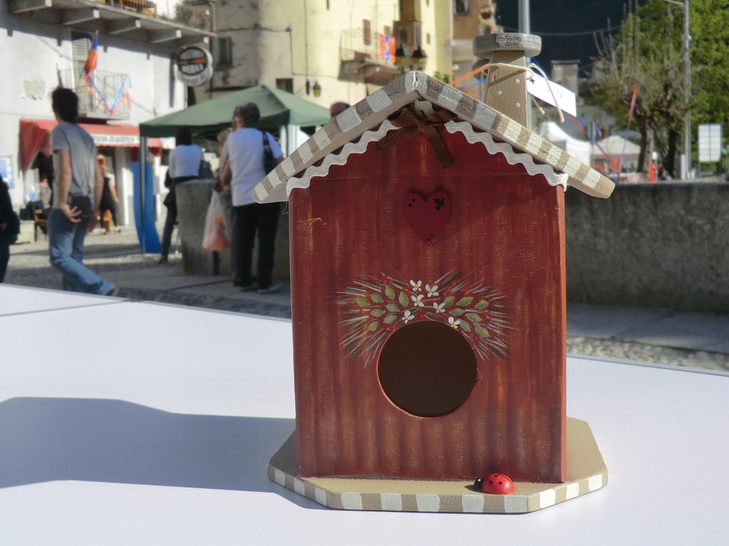 casetta degli uccellini