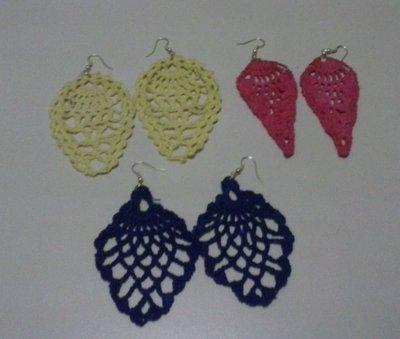 Orecchini varie forme e colori