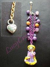 Bracciale Rapunzel in fimo