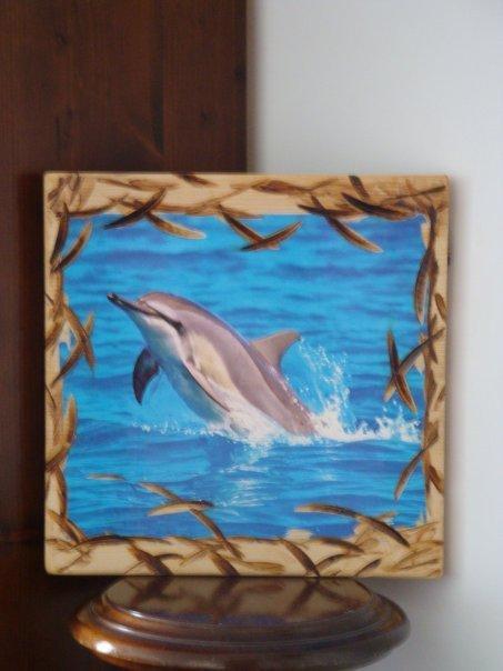 quadro legno intagli